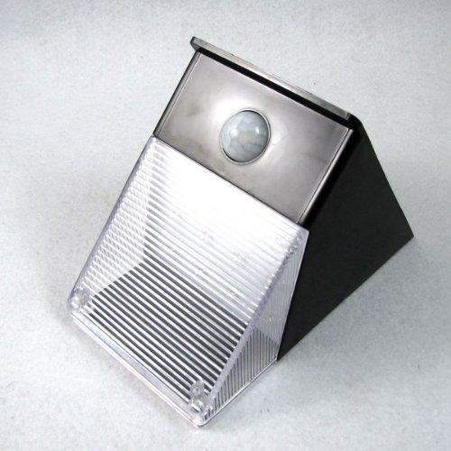 Solar 12 Led Motion Sensor Pir Wall Mount Garden Light