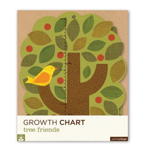 Petit Collage Growth Chart, Tree Friends front-941875