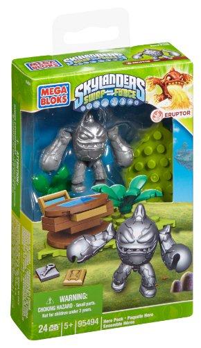 Mega Bloks Skylanders Silver Eruptor - 1