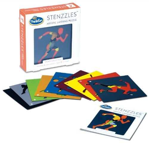 Thinkfun Stenzzles Sports Puzzle - 1