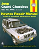 img - for Jeep Grand Cherokee Automotive Repair Manual: All Jeep Grand Cherokee Models 1993 Through 1998 (Haynes Automotive Repair Manual Series) book / textbook / text book
