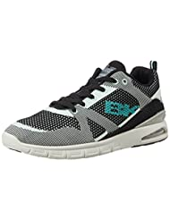 British Knights Men's Energy Black And Mint Mesh Sneakers