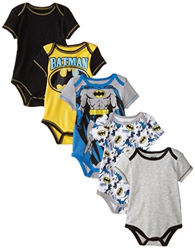 Warner Brothers Baby Baby Boys born Boy Batman 5 Pack Creeper at Gotham City Store