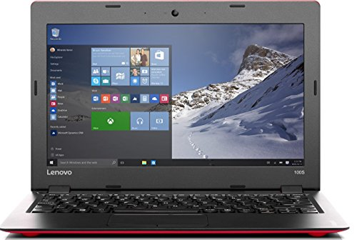 "Lenovo IdeaPad 100S 11 - Intel Atom Processor Z3735F (2M Cache, up to 1.83 GHz), 2GB RAM, 32GB eMMC, 29.464 cm (11.6 "") HD (1366x768) TN, Intel HD Graphics, Windows 10 Home 64"