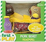 Melissa & Doug Deluxe Picnic Basket Fill & Spill Soft Baby Toy