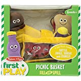Melissa & Doug Deluxe Picnic Basket Fill & Spill Soft Baby Toy ~ Melissa & Doug