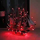 InnooTech 30 LED Fairy Light String Battery Operated Red for Christmas Outdoor Party
