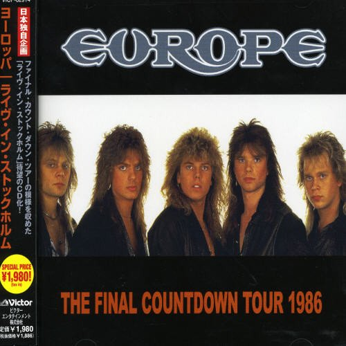 Europe - Final Countdown Tour 1986 - Zortam Music