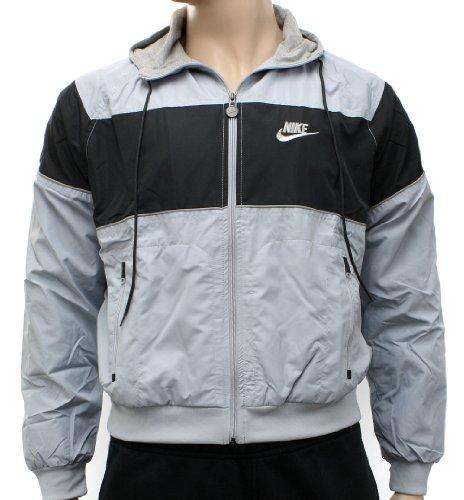 Nike Mens Sportswear Windrunner Jacket - Light Blue, Dark Blue - XL