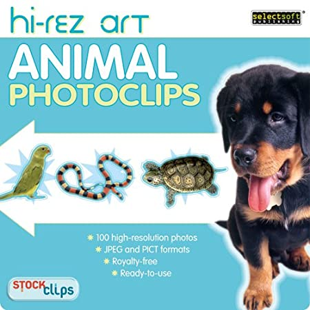 High-Rez Art: Animal PhotoClips [Download]