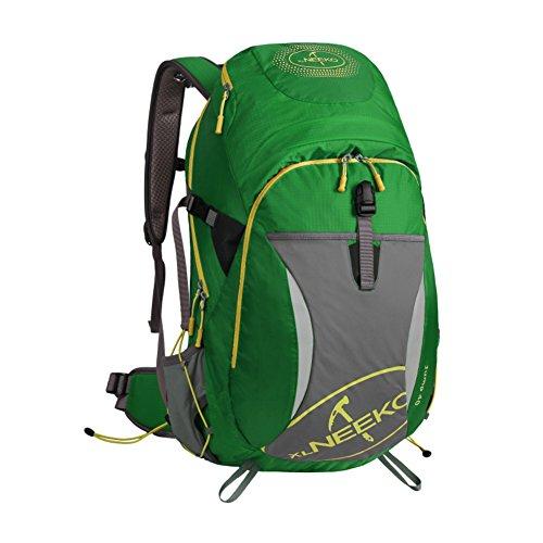 Alpinisme sac / grande capacité / sac de randonnée imperméable à l'eau en plein air sac à dos Voyage-vert 40L