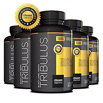Chosen Vitamins - High Quality Tribulus - 45% Steroidal Saponins - 1500MG Extreme Strength Bulgarian - Maximum Testosterone Booster - Increase Male Performance and Libido - 120 Veggie Capsules.