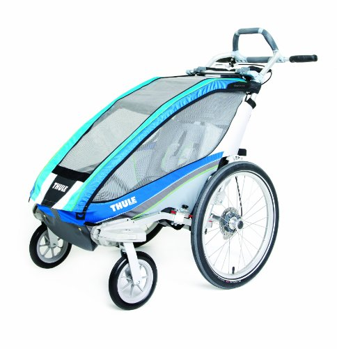 Thule Chariot Cx Single Stroller - Blue front-945742