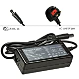 G42 G60t G60 G62t G62 G71 G72t G72 HP Pavilion DM4t DV3 DV4 DV6 AC ADAPTER CHARGER including 3 pin UK POWER CORD TECHNOPRO®