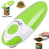 BangRui hands-free fast and secure smooth edge automatic electric can opener (green)