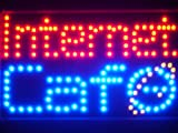 Led018-r Internet Cafe Bar LED Neon Business Light Sign