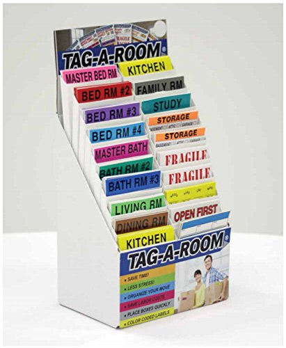 Tag-A-Room Color Coded Labeling