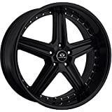 "Lorenzo WL19 Wheel with Gloss Black Finish (18x9.5""/5x4.5"")"