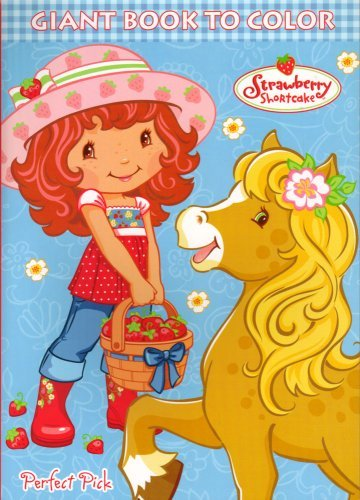 Strawberry Shortcake Big Fun Book to Color (Life Delicious)~ 96 Pg