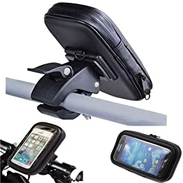 Castho Custodia Impermeabile Supporto Bici Bicicletta Moto per Apple iPhone 4S 4G Waterproof Mount Holder Cover