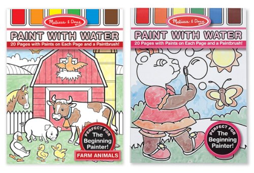 Melissa & Doug Paint with Water Bundle (Girls)(Pack of 2)
