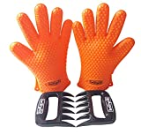 BBQ Grill Cooking Gloves Heat Resistant & Bear Claw Set - High Quality Silicone Barbecue Grilling Gloves and Pulled Pork Shredder At Best Price! Ideal Replacement for Oven Mitts, Non Slip Grip, Durable, Can Withstand Heat up to 425F, Waterproof and Easy to Clean! LIFETIME WARRANTY! Have the PERFECT Summer Barbeque Now!