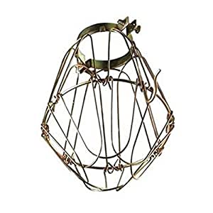 small wire keyless lamp guard replacement cage. Black Bedroom Furniture Sets. Home Design Ideas