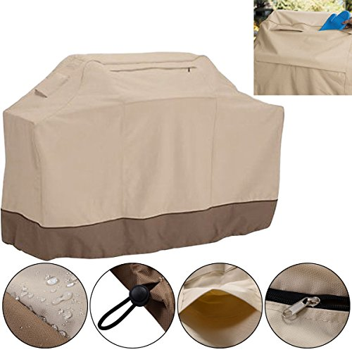 "60"" Waterproof Outdoor Patio Barbeque Grill Oven Cover Furniture Protection New"