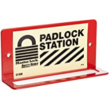 Master Lock 6-Padlock Wall Bracket