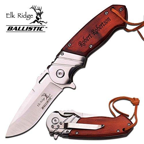 Best Buy! Free Engraving - Quality Elk Ridge Pocket Knife