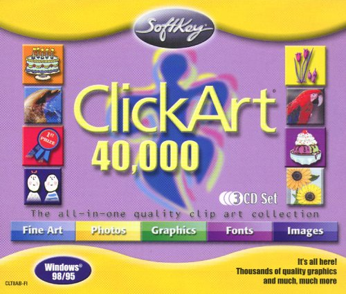 ClickArt 40,000 3 CD Set