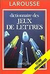 Dictionnaire des jeux de lettres : 15...