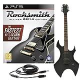 Rocksmith 2014 PS3 + Guitare électrique Harlem Noire