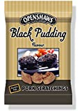 Freshers Foods Openshaws GastroPub Black Pudding Pork Scratchings Card, 45 g (Pack of 8)