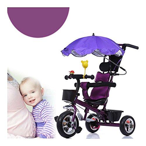 Kid-Child-Trike-Bike-Stroller-Tricycle-Pram-Toddler-Push-Ride-On-Toy-Pushchair