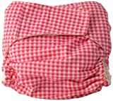 Cuteybaby All in One Modern Cloth Diaper, Pink Gingham, Infant