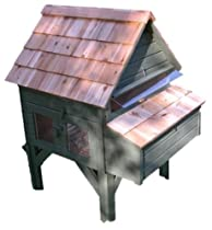 Hot Sale Green Chicken Coop GCCAH003 Alexandria Chicken House