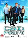 C.S.I: Crime Scene Investigation - Miami - Season 1 Part 2 [DVD] [2003]