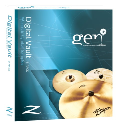 Gen16 Digital Vault Z-Pack: A Series Cymbals With Bfd Eco.
