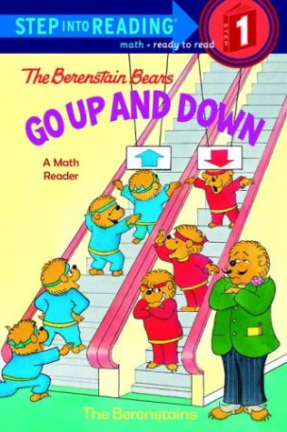 The Berenstain Bears Go Up and Down (Step-Into-Reading, Step 1)