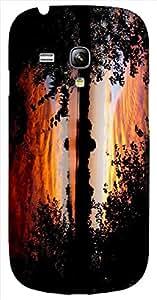 Timpax protective Armor Hard Bumper Back Case Cover. Multicolor printed on 3 Dimensional case with latest & finest graphic design art. Compatible with Samsung S-3Mini - I8190 Galaxy S III mini Design No : TDZ-25929