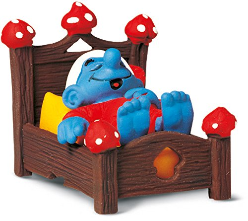 Schleich Smurf in Bed Toy Figure