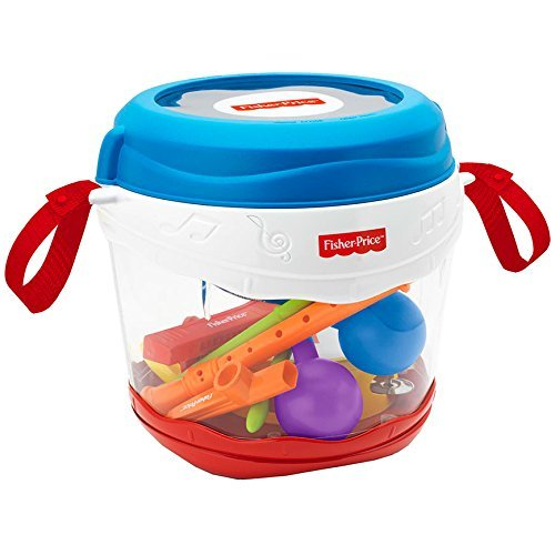 Fisher Price Music On-the-Go Drum Set with Musical Instruments (Fisher Drum Set compare prices)