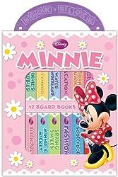 Disney Minnie Mouse 12 Book Block Set