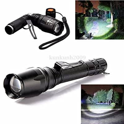 FYL 5000 Lumen XM-L T6 LED Zoomable Focus 18650 Flashlight Torch Lamp Light Hot Sale