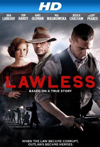 Amazon - Lawless HD movie rental - $0.99