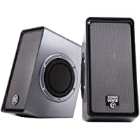 SonaVERSE 02 USB-Powered Speakers With Dual Side-Firing Passive Woofers And Free 6 Feet Netcna HDMI Cable - By...