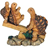 StealStreet SS-G-61058, 3 Turtles On Seesaw Garden Decoration Collectible figure Statue Model