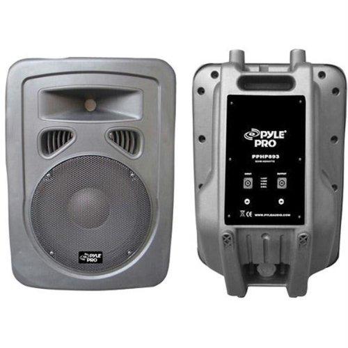 Pyle-Pro Pphp893 400 Watt 8'' 2-Way Plastic Molded Loudspeaker System