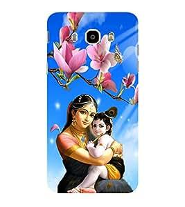 ifasho Yasoda krishna Back Case Cover for Samsung Galaxy J7 (2016)